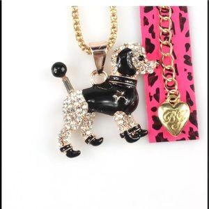 Betsey Johnson Dog Necklace